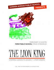 Lion King poster by Henry (1)