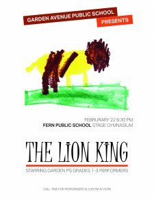 Lion King poster by Henry (2)