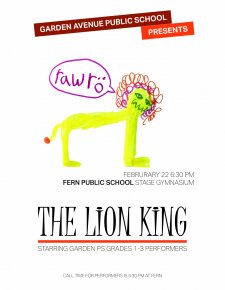 Lion King poster by Lauren (3)
