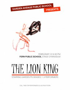 Lion King poster by Max