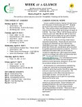 Parent Week at a Glance - Week of April 23-27