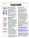 FSLAC Newsletter - March 2017