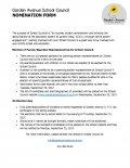 Garden School Council Nomination Form